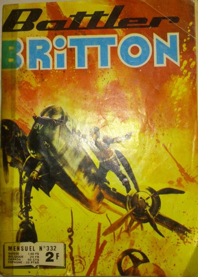 Couverture de Battler Britton -332- Vengeance Viging / Prendre les armes!