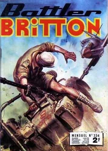Couverture de Battler Britton -334- Le balafré