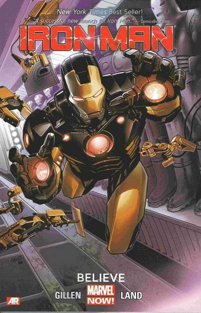 Couverture de Iron Man (2013) -INT01- Believe