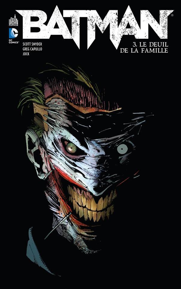 Couverture de Batman (DC Renaissance) -3- Le Deuil de la famille