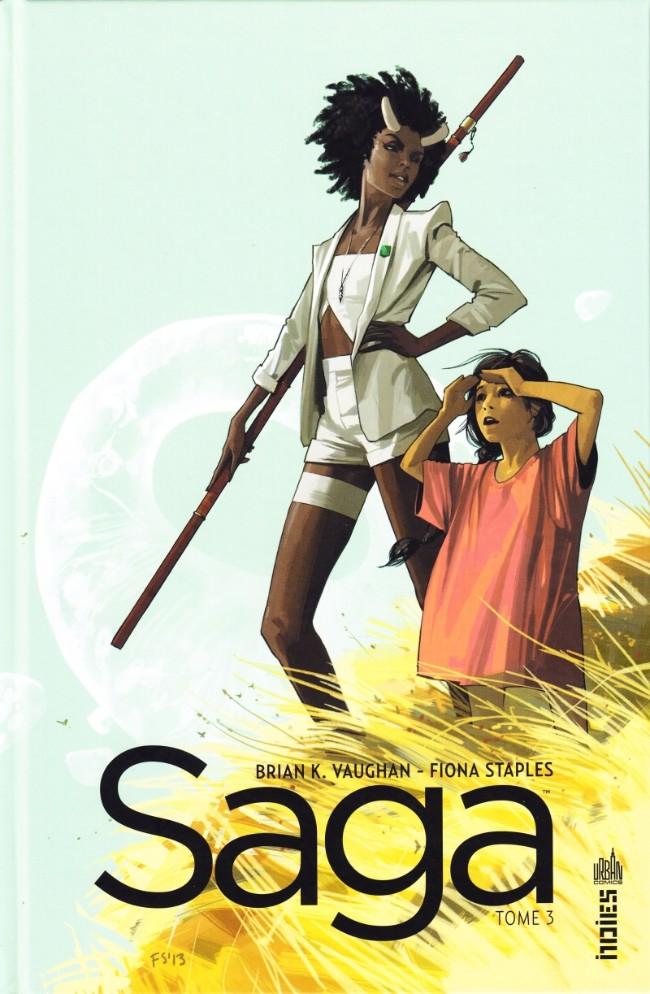 Couverture de Saga (Vaughan/Staples) -3- Tome 3