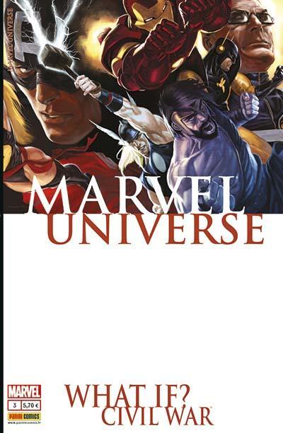 Couverture de Marvel Universe (Panini - 2013) -3- What if? Civil war