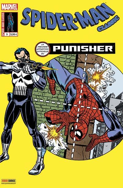 Couverture de Spider-Man Classic -9- Le Punisher frappe deux fois