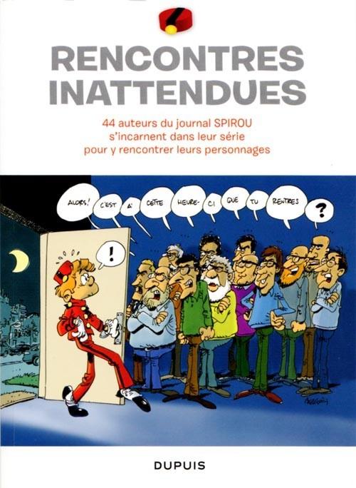 Couverture de Spirou et Fantasio -2- (Divers) -MR3958- Rencontres inattendues