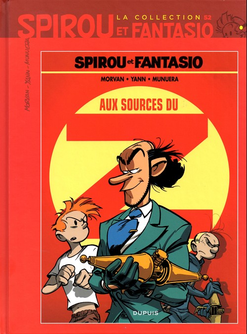 Couverture de Spirou et Fantasio - La collection (Cobra) -52- Aux sources du Z
