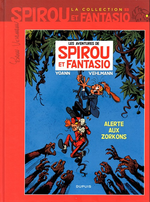 Couverture de Spirou et Fantasio - La collection (Cobra) -53- Alerte aux Zorkons
