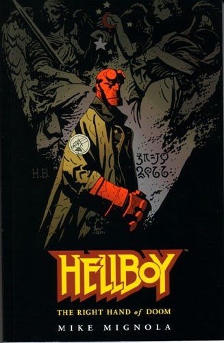 Couverture de Hellboy (1994) -INT04a- The Right Hand of Doom