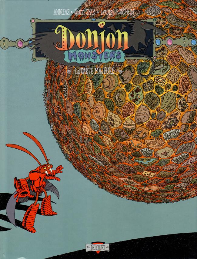 Couverture de Donjon Monsters -3- La carte majeure