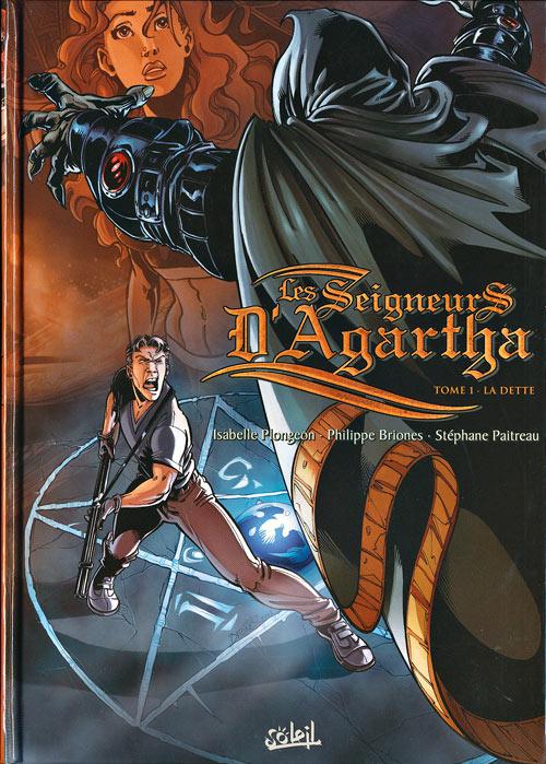 Couverture de Les seigneurs d'Agartha -1- La dette