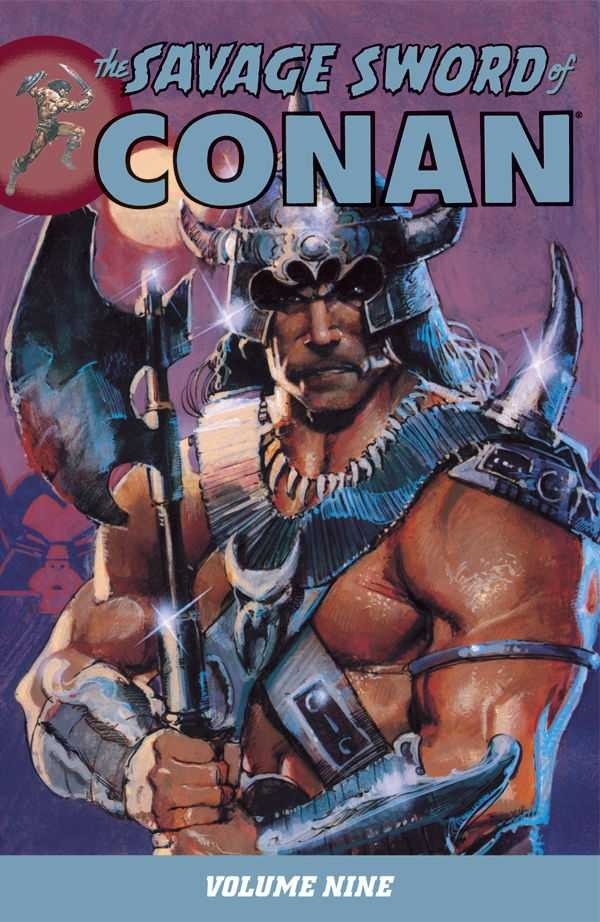 Couverture de Savage sword of Conan (The) (intégrale Dark Horse)) -INT09- Volume 9