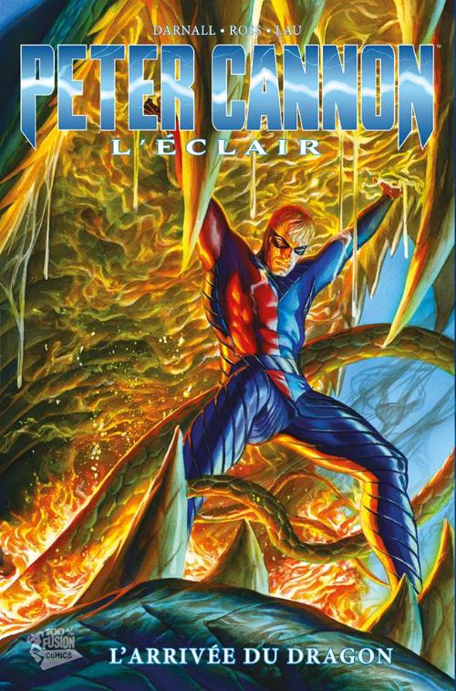 Couverture de Peter Cannon - L'Éclair -1- L'Arrivée du dragon