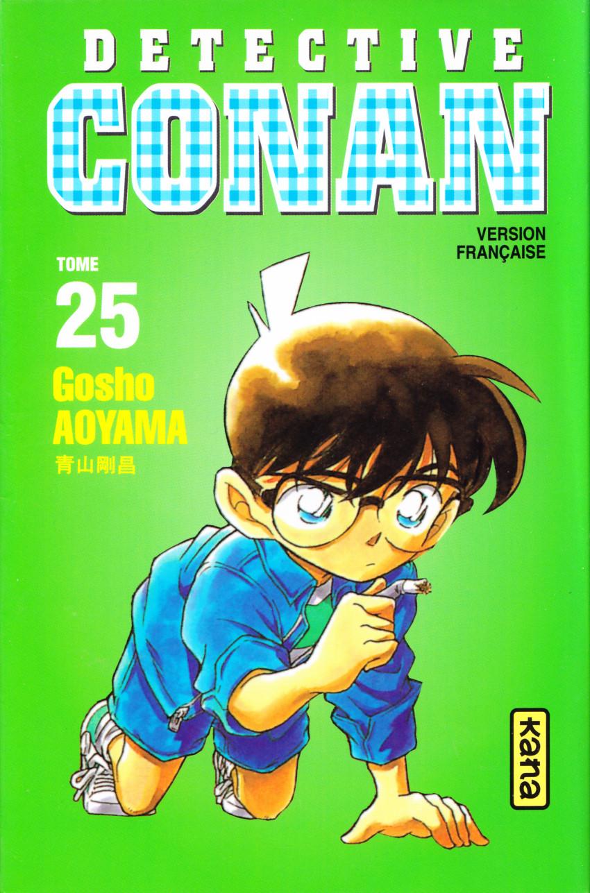 Couverture de Détective Conan -25- Tome 25
