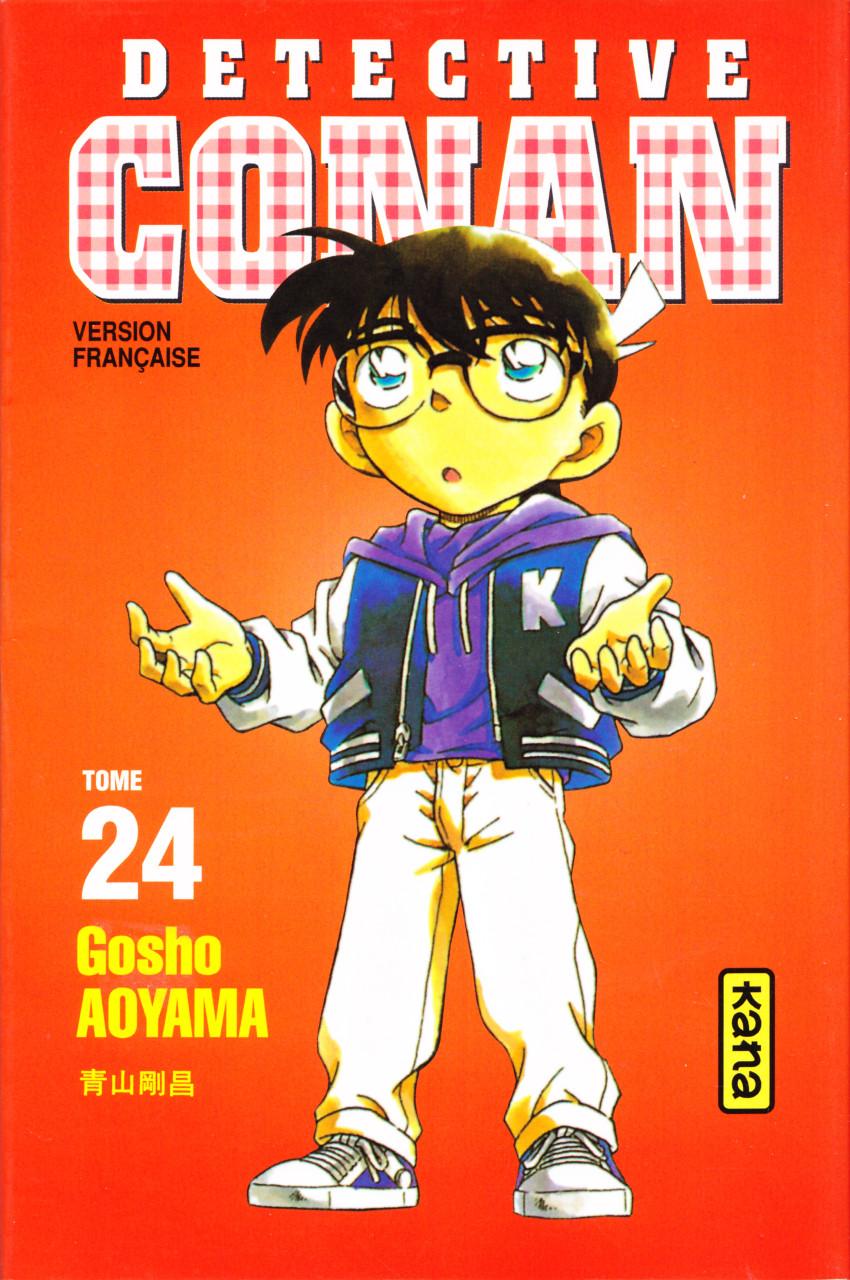 Couverture de Détective Conan -24- Tome 24