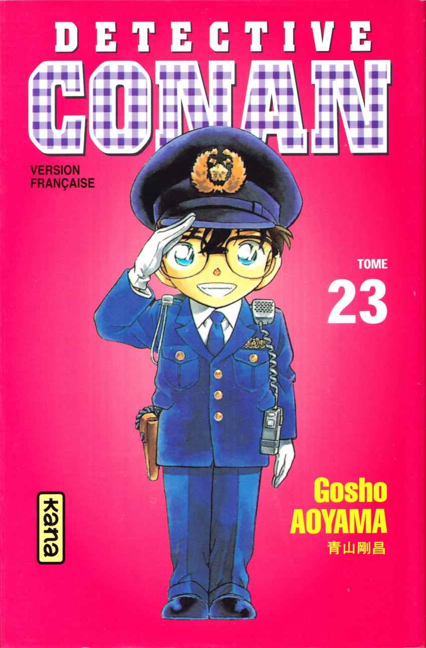 Couverture de Détective Conan -23- Tome 23