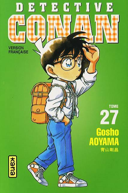 Couverture de Détective Conan -27- Tome 27
