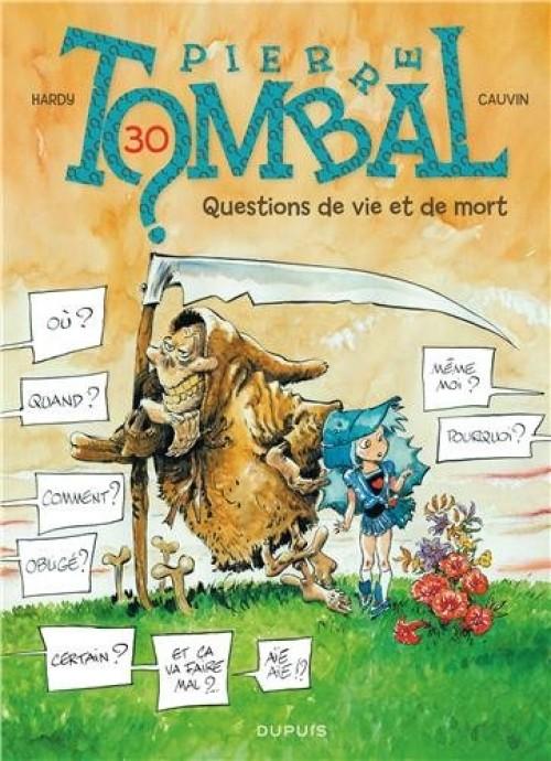 Couverture de Pierre Tombal -30- Questions de vie et de mort