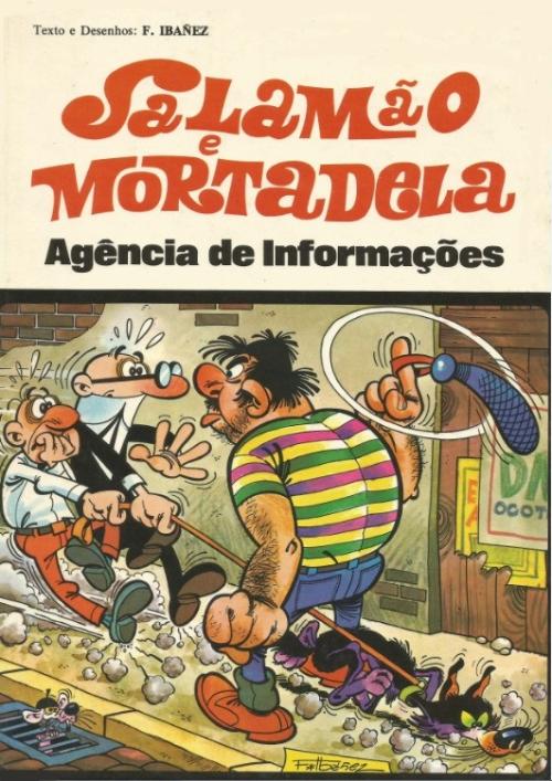 Couverture de Salamäo e Mortadela -2- Agência de Informações