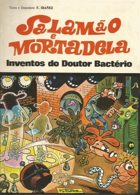 Couverture de Salamäo e Mortadela -4- Inventos do Doutor Bactério