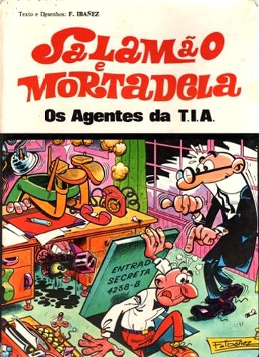 Couverture de Salamäo e Mortadela -5- Os Agentes da T.I.A.