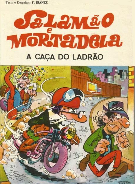 Couverture de Salamäo e Mortadela -7- A Caça do ladrão