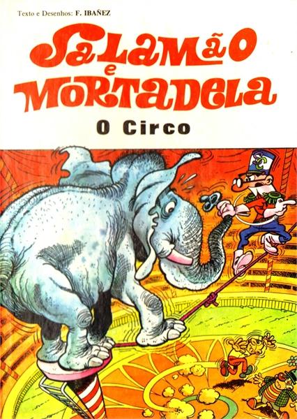 Couverture de Salamäo e Mortadela -9- O Circo