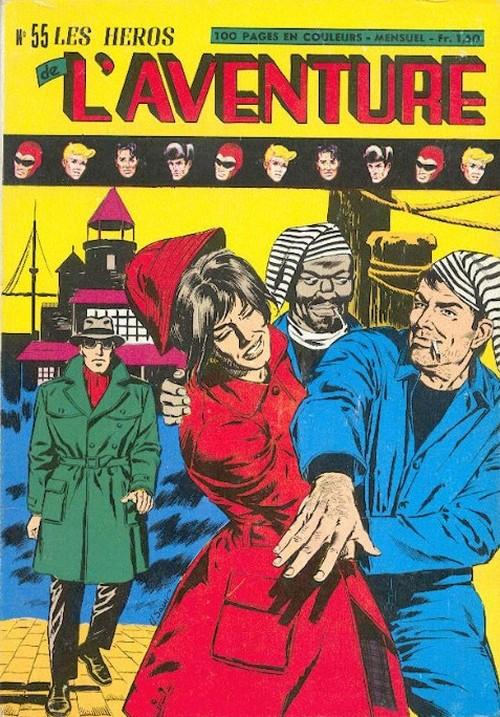 Couverture de Les héros de l'aventure (Classiques de l'aventure, Puis) -55- Le Fantôme : Les méchants
