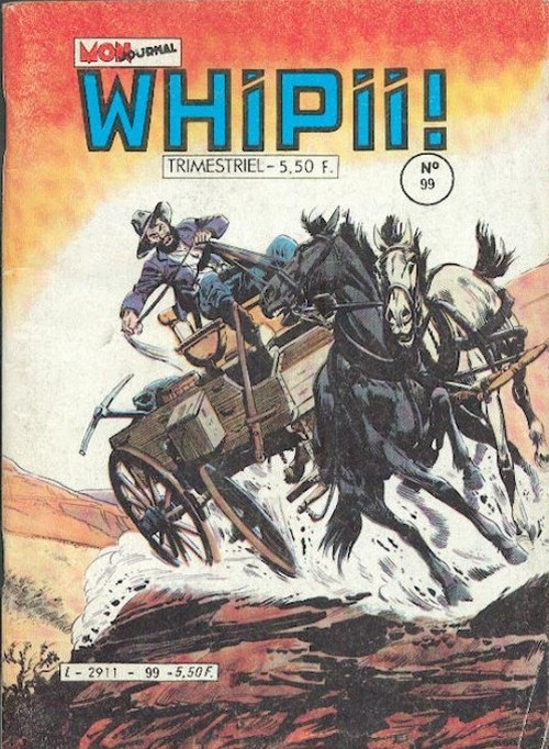 Couverture de Whipii ! (Panter Black, Whipee ! puis) -99- Stormy JOE -