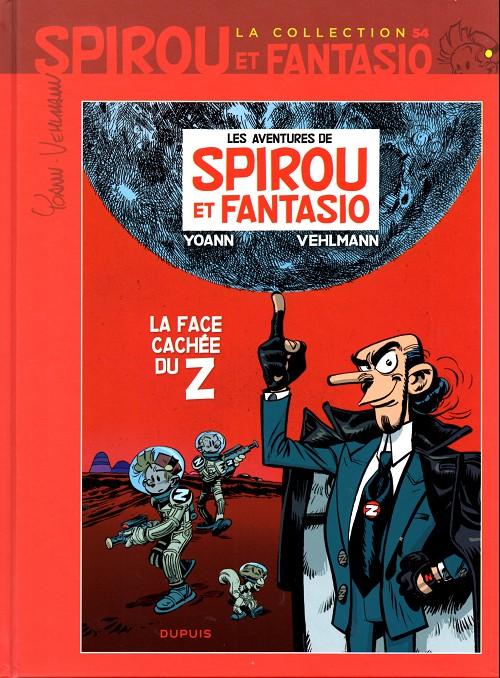 Couverture de Spirou et Fantasio - La collection (Cobra) -54- La face cachée du Z