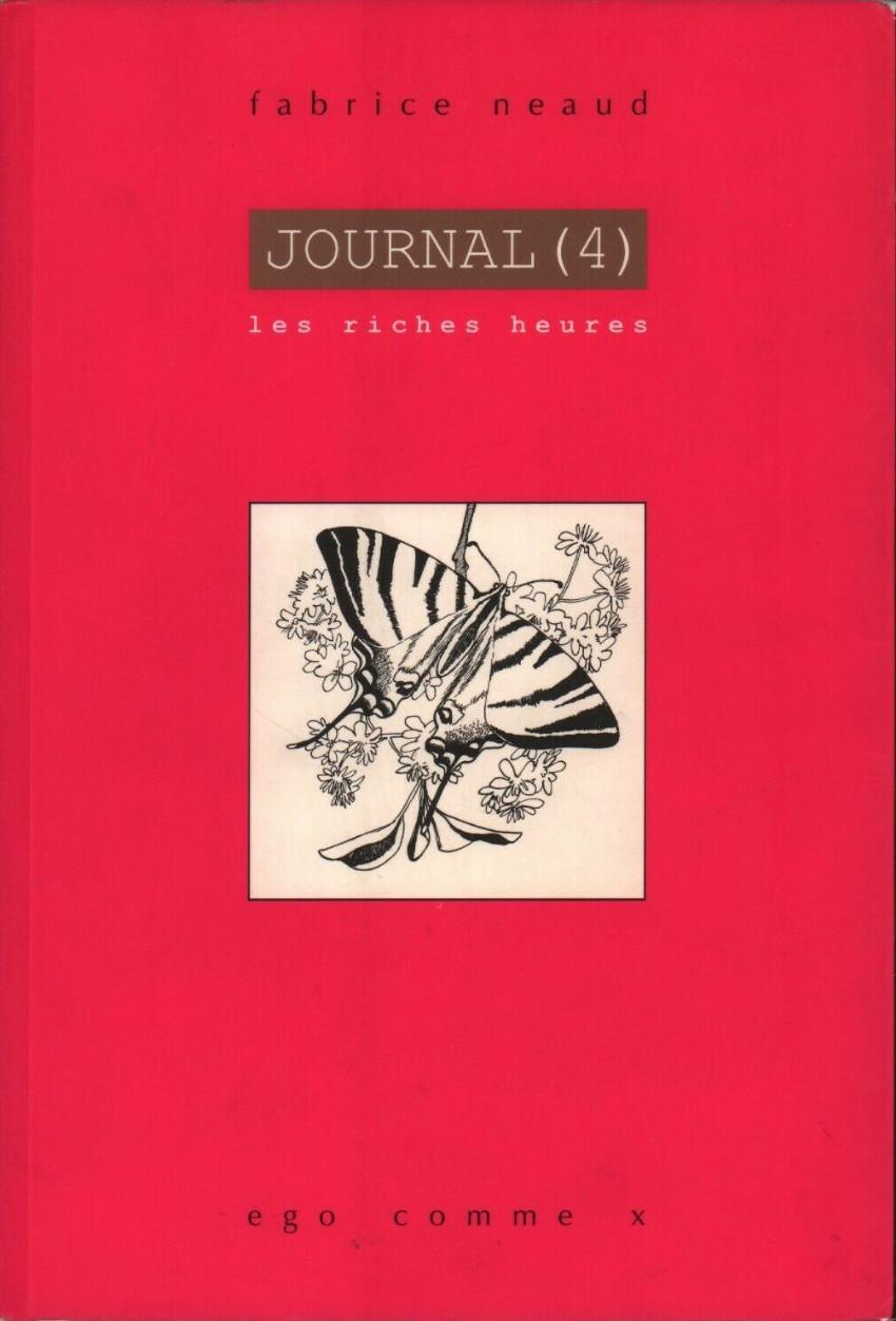 Couverture de Journal (Neaud) -4- Journal (4) - Les riches heures