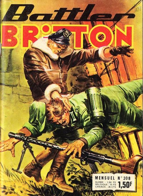 Couverture de Battler Britton -308- Retour assuré - monsieur ! - le malchanceux