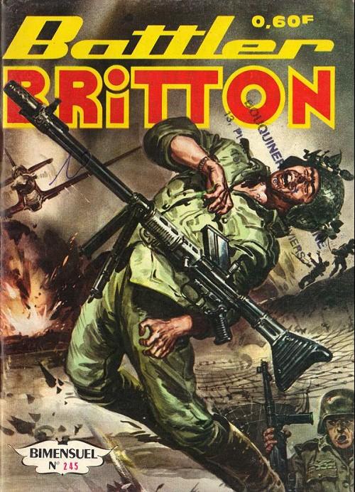 Couverture de Battler Britton -245- Récupérations