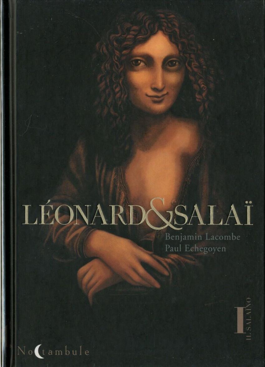 Couverture de Léonard & Salaï -1- Il Salaïno