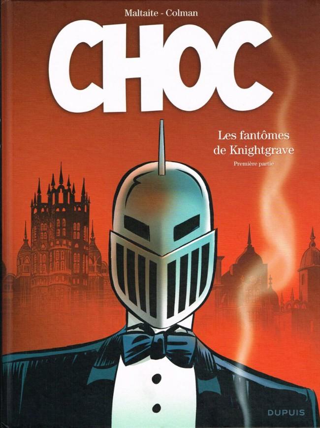 Couverture de Choc (Maltaite/Colman) -1- Les fantômes de Knightgrave - Première partie