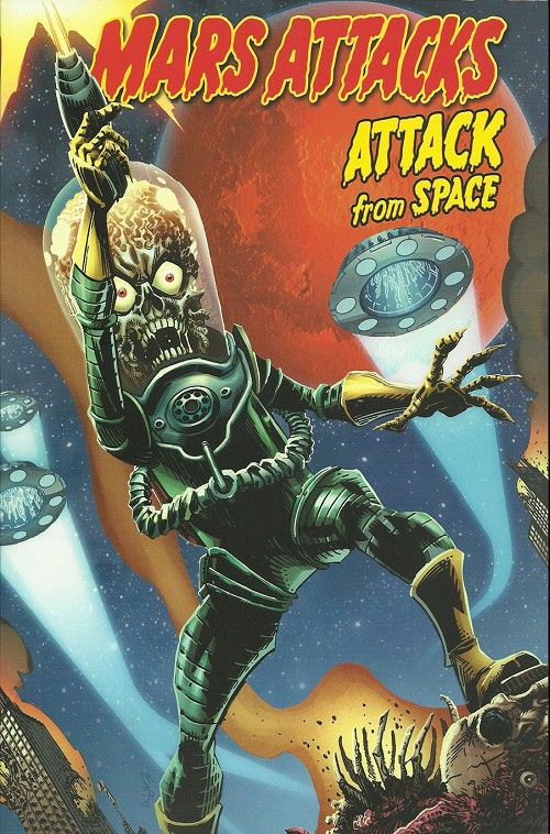 Couverture de Mars attacks - Attack from space