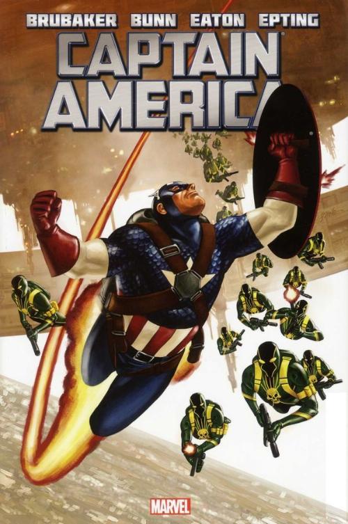 Couverture de Captain America (2011) -INT04- Captain America by Ed Brubaker Volume 4