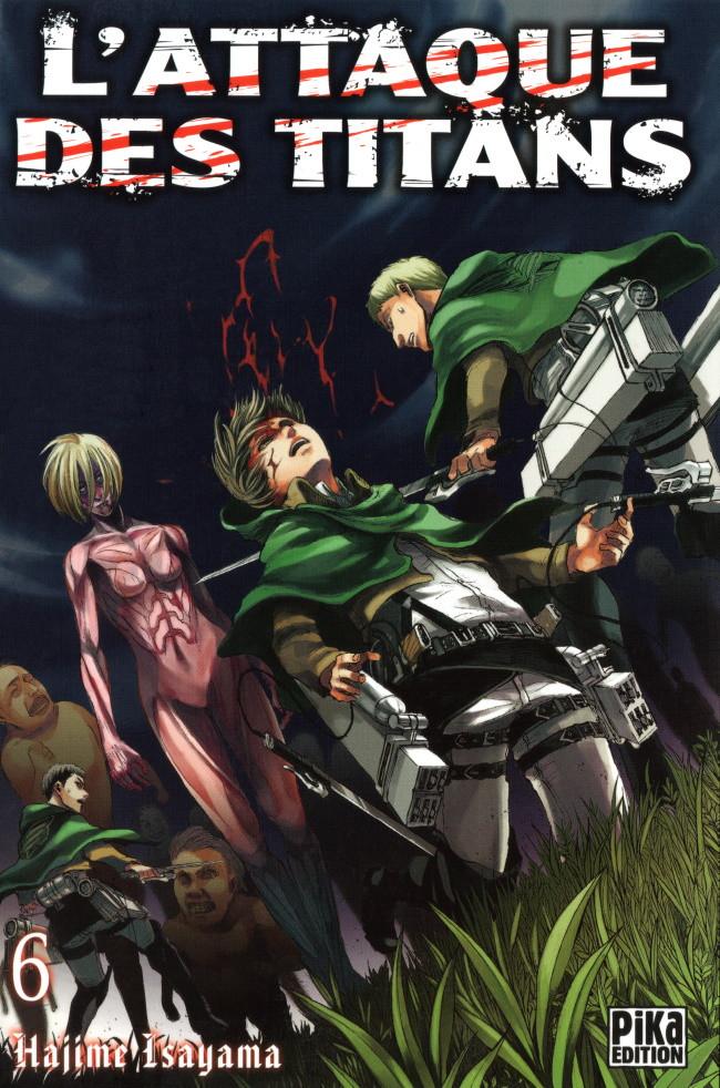 Couverture de L'attaque des Titans -6- Tome 6