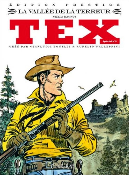 Couverture de Tex (Spécial) (Clair de Lune) -9- La vallée de la terreur