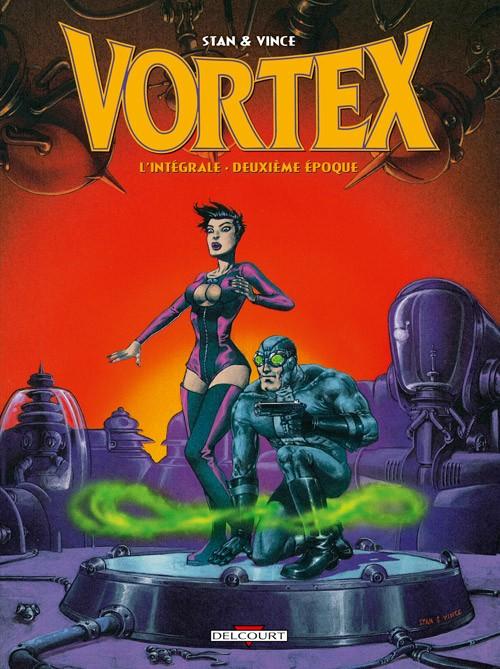 Couverture de Vortex -INT2- L'Intégrale - Deuxième époque