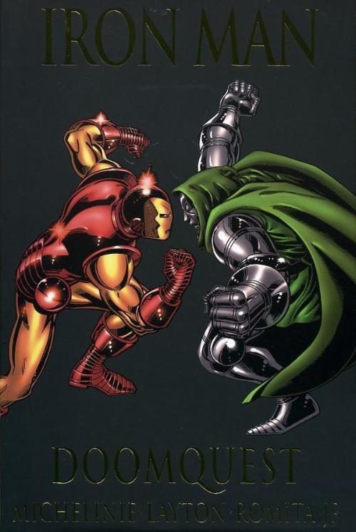 Couverture de Iron Man Vol.1 (Marvel comics - 1968) -INTHC- Doomquest