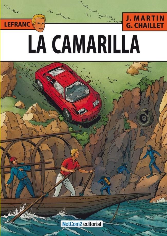 Couverture de Lefranc (en espagnol) -12- La Camarilla
