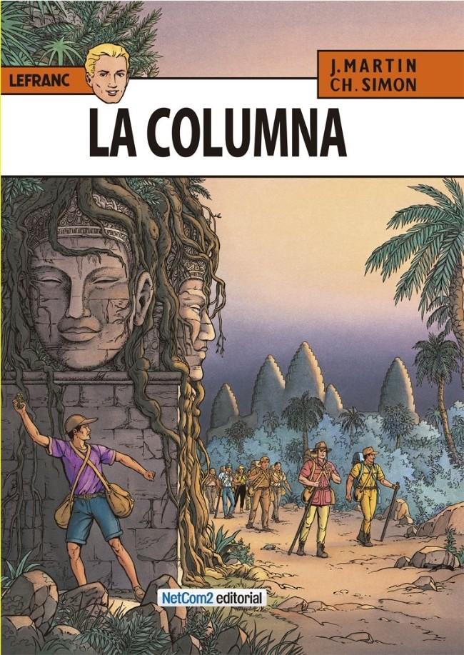Couverture de Lefranc (en espagnol) -14- La Columna