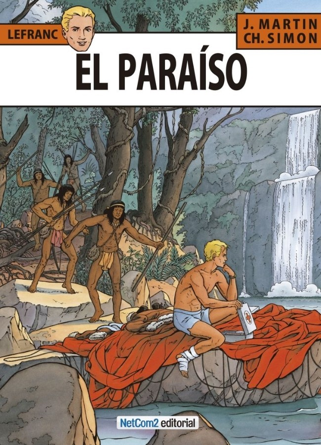 Couverture de Lefranc (en espagnol) -15- El Paraíso