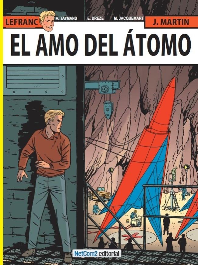 Couverture de Lefranc (en espagnol) -17- El Amo del Átomo