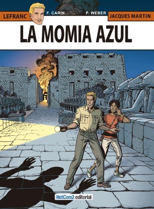 Couverture de Lefranc (en espagnol) -18- La Momia Azul
