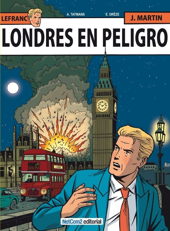 Couverture de Lefranc (en espagnol) -19- Londres en Peligro