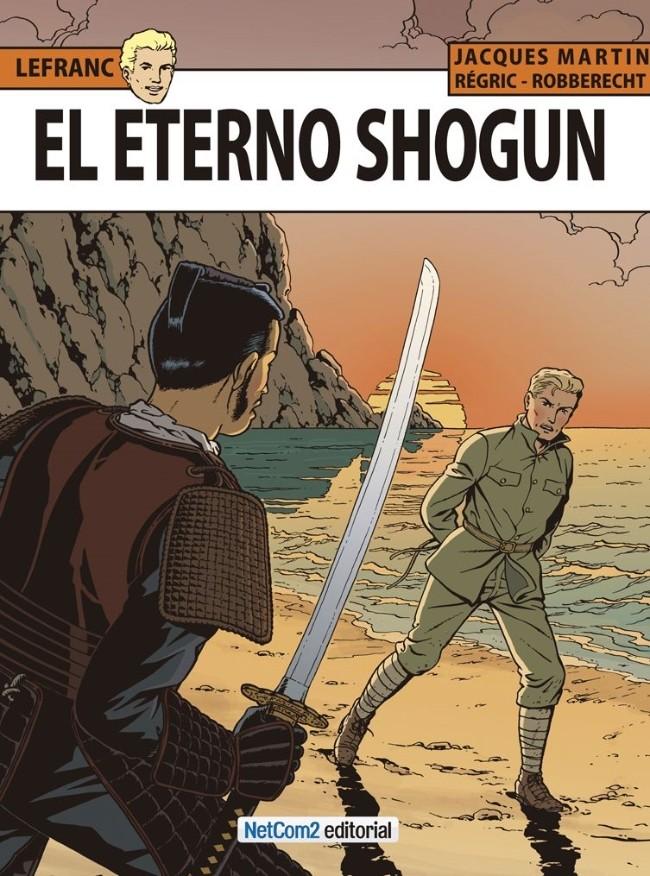Couverture de Lefranc (en espagnol) -23- El Eterno Shogun