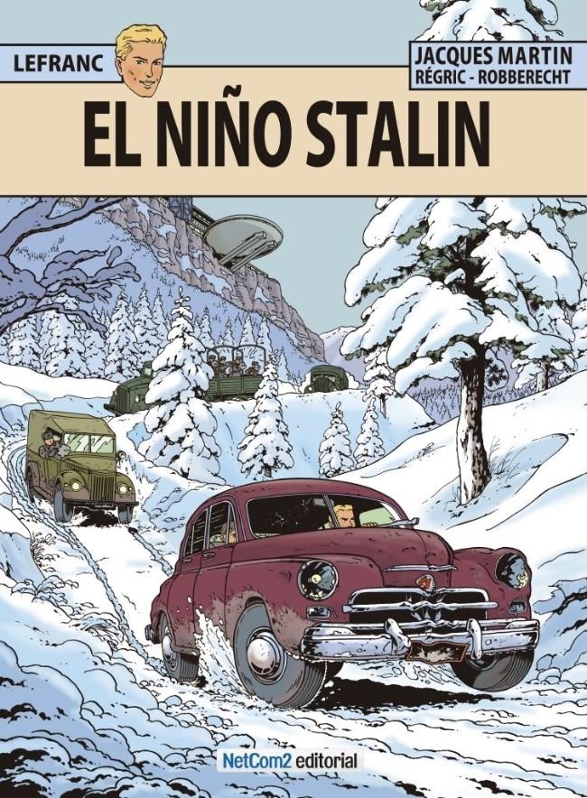 Couverture de Lefranc (en espagnol) -24- El Niño Stalin