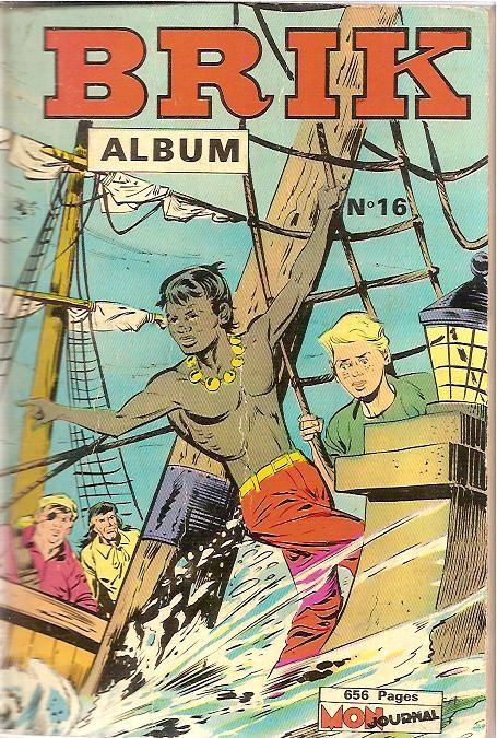 Couverture de Brik (Mon journal) -Rec16- Album N°16 (du n°61 au n°64)