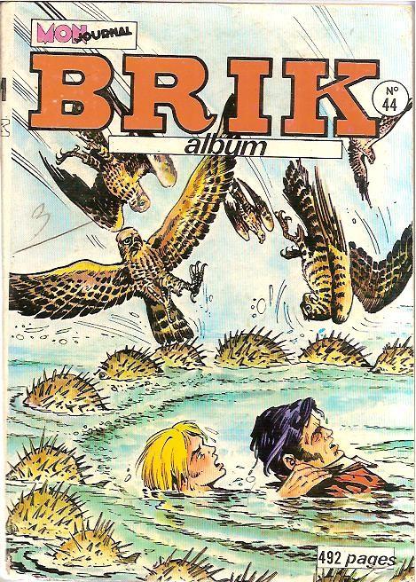 Couverture de Brik (Mon journal) -Rec44- Album N°44 (du n°167 au n°169)