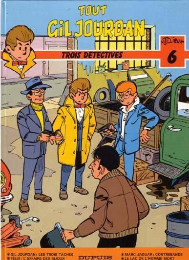 Couverture de Gil Jourdan (Tout) -6- Trois détectives